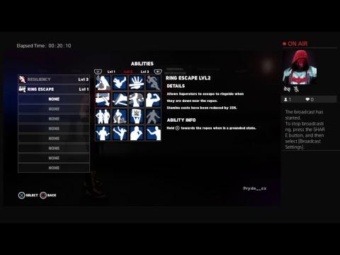 WWE 2K18 Creating Superstar