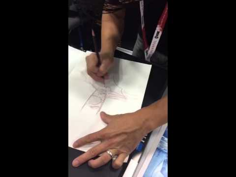 Periscope: 070915 SDCC - Dustin Nguyen Sketching