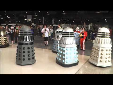 Australian Dalek Builders Union at Supanova Adelaide 2015