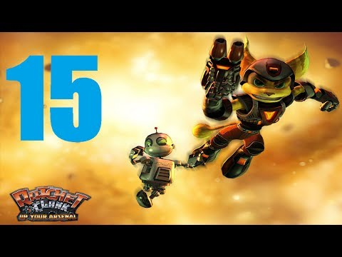 [Part 15] Ratchet and Clank: Up Your Arsenal HD Remake Gameplay Walkthrough/Playthrough/Let's Play