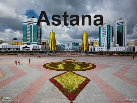 Astana city, the capital of Kazakhstan