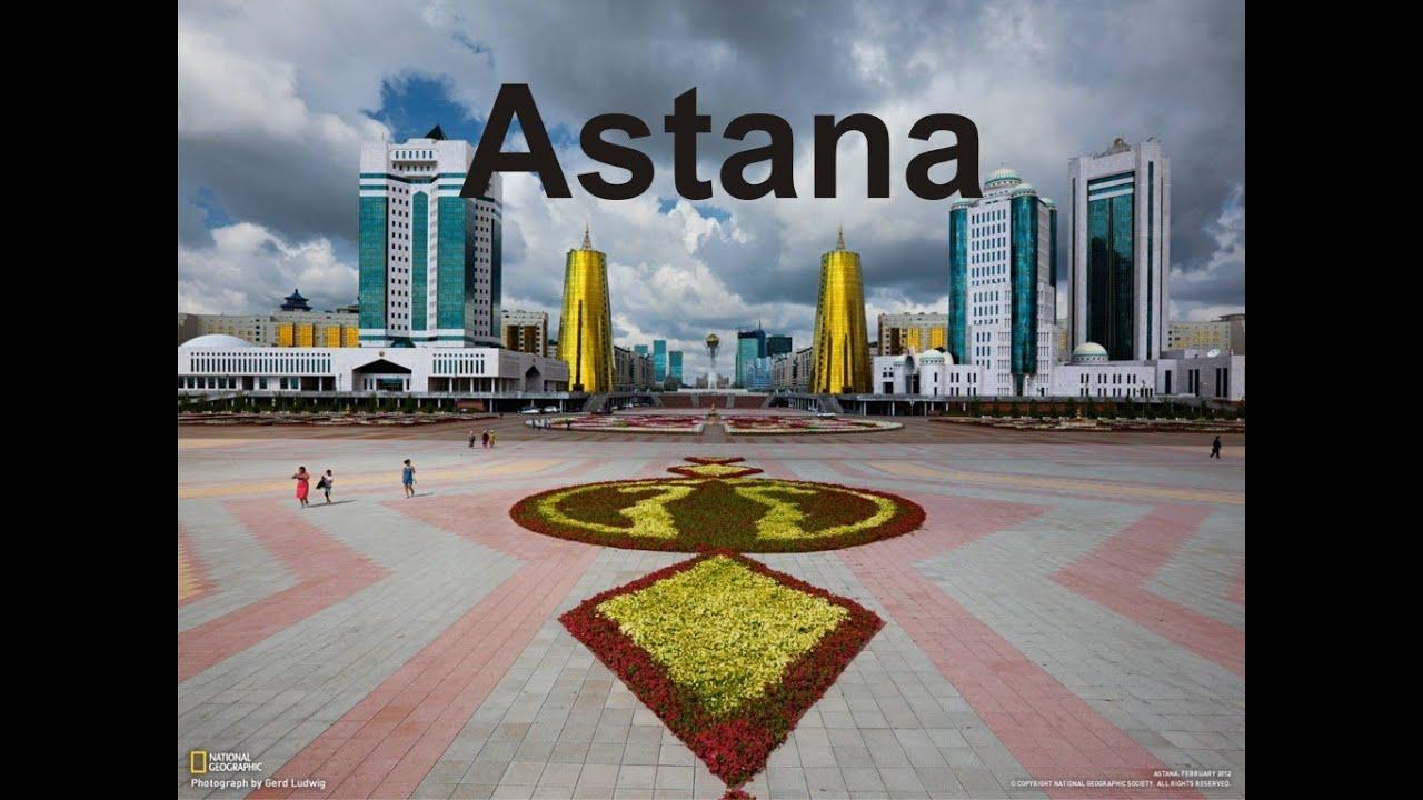 Astana city, the capital of Kazakhstan - YouTube