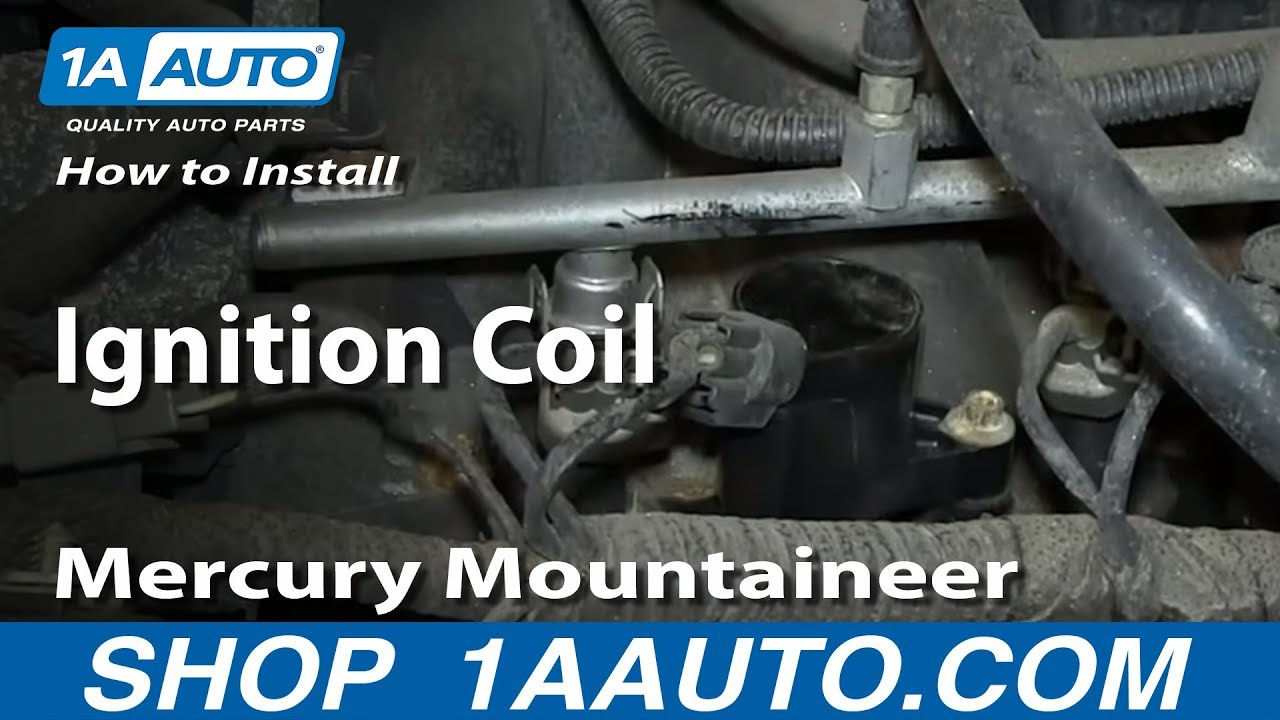 How To Install Replace Ignition Coil 2002 10 46l V8 Ford Explorer System Diagram Mercury Mountaineer Youtube