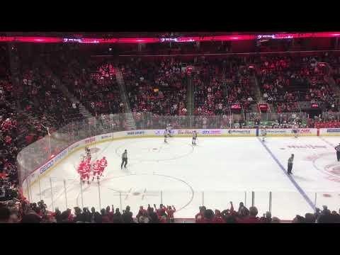 Red Wings V.S. Oilers 11/3 - Goal 2 (DET)
