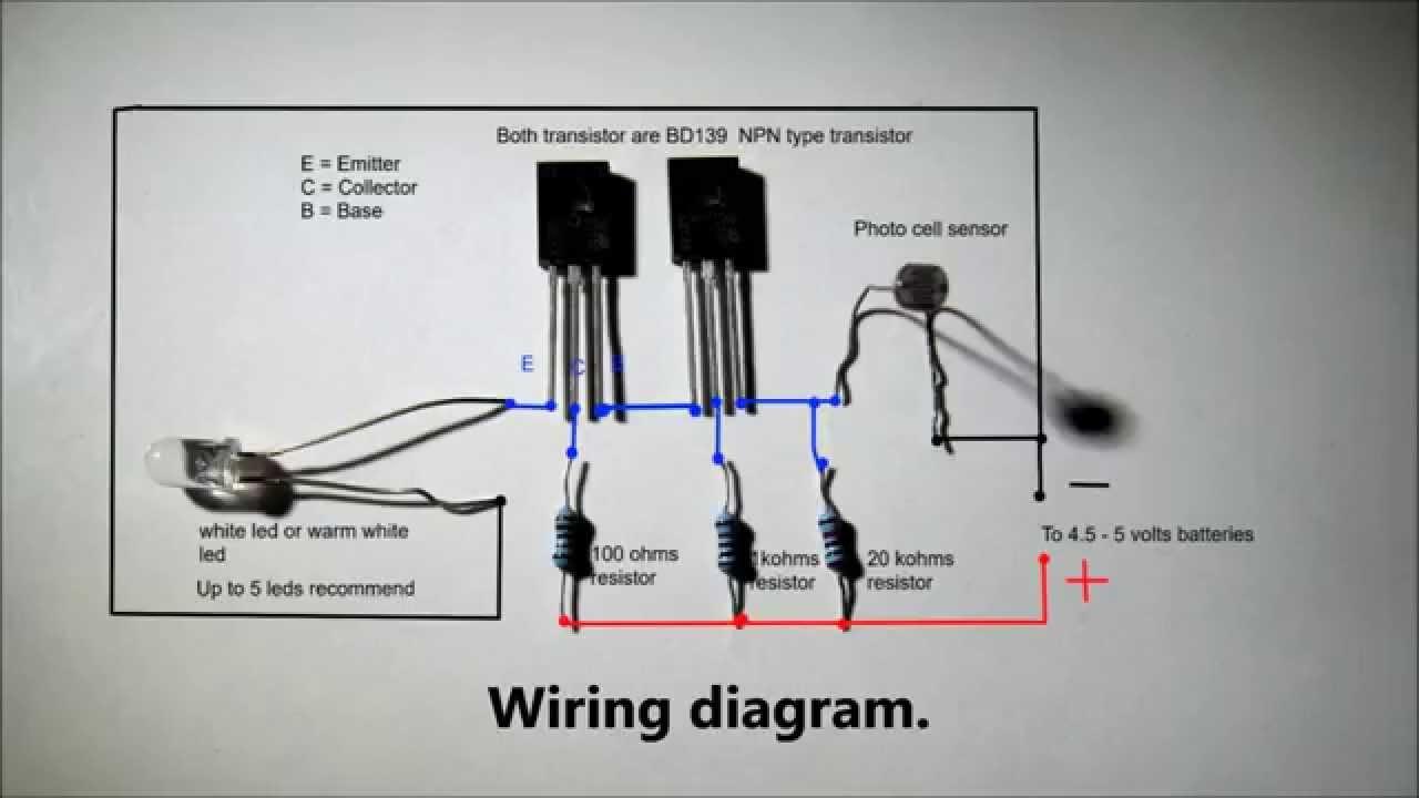 Irdetector Ledandlightcircuit Circuit Diagram Seekiccom
