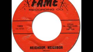 JIMMY HUGHES - NEIGHBOR, NEIGHBOR [Fame 1003] 1966