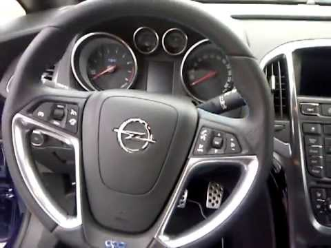 Astra j gtc opc interieur youtube for Interieur astra h opc