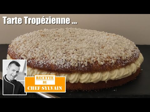 Tropézienne pie - Recipe by Chef Sylvain