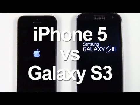 iPhone 5 vs. Galaxy S3, Which Is Faster?