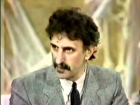 Frank Zappa  Appearance On People Are Talking 1986