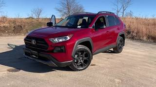 2020 Toyota RAV4 TRD Off Road AWD review in Madison WI