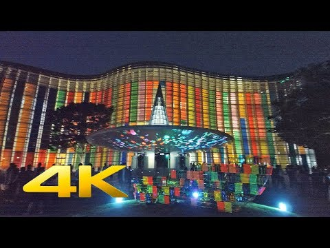 Roppongi Art Night 2018 六本木アートナイト (REMOVU K1 - Video Test) 4K Ultra HD - TOKYO TRIP, JAPAN