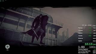 Dishonored 2 - Emily Any% Speedrun in 22:17 IGT (World Record)