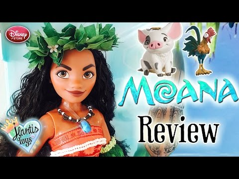Disney Moana Limited Edition Doll Review | Disney Store