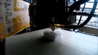 Anet A8 3D printer (first print)