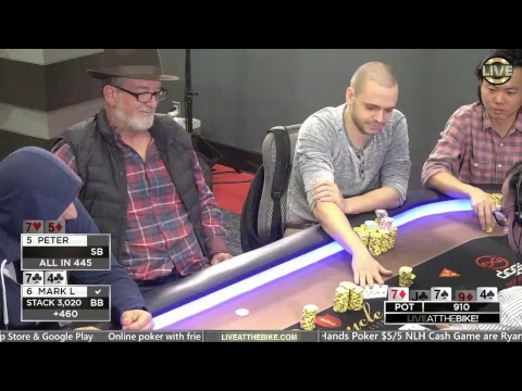 Live at the Bike! - Just Hands Poker - $5/5 NLH Cash Game Li
