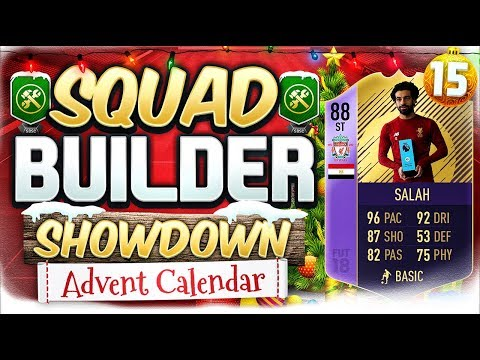 FIFA 18 SQUAD BUILDER SHOWDOWN!!! PLAYER OF THE MONTH SALAH!!! Advent Calendar Day 16 Vs Oakley