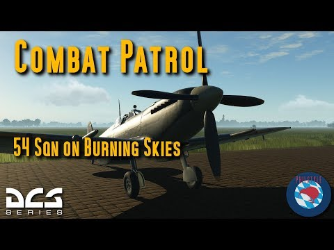 DCS Spitfires - Online Patrol - with Tacview