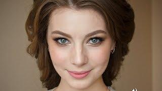 Людмила Широкова.  Свадебная прическа и макияж.