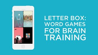 Letter Box - Word Games for Brain Training