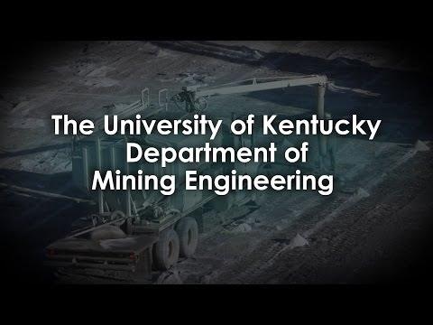 The University Of Kentucky Mining Engineering Program