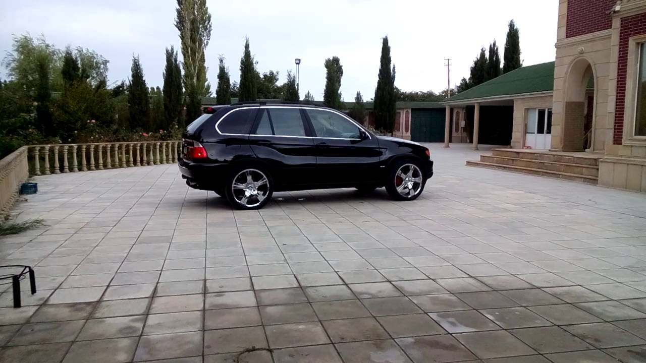 Bmw E53 On 22 Inch Rims Youtube