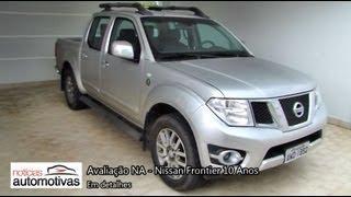 Nissan Frontier 10 Anos - Detalhes - NoticiasAutomotivas.com.br