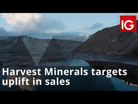 Harvest Minerals targets uplift in sales