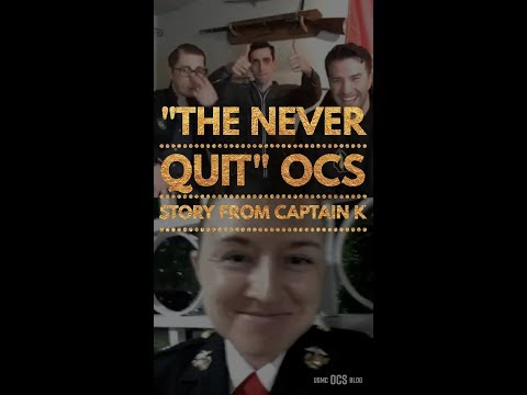 Badass OCS story from a Marine OSO Captain