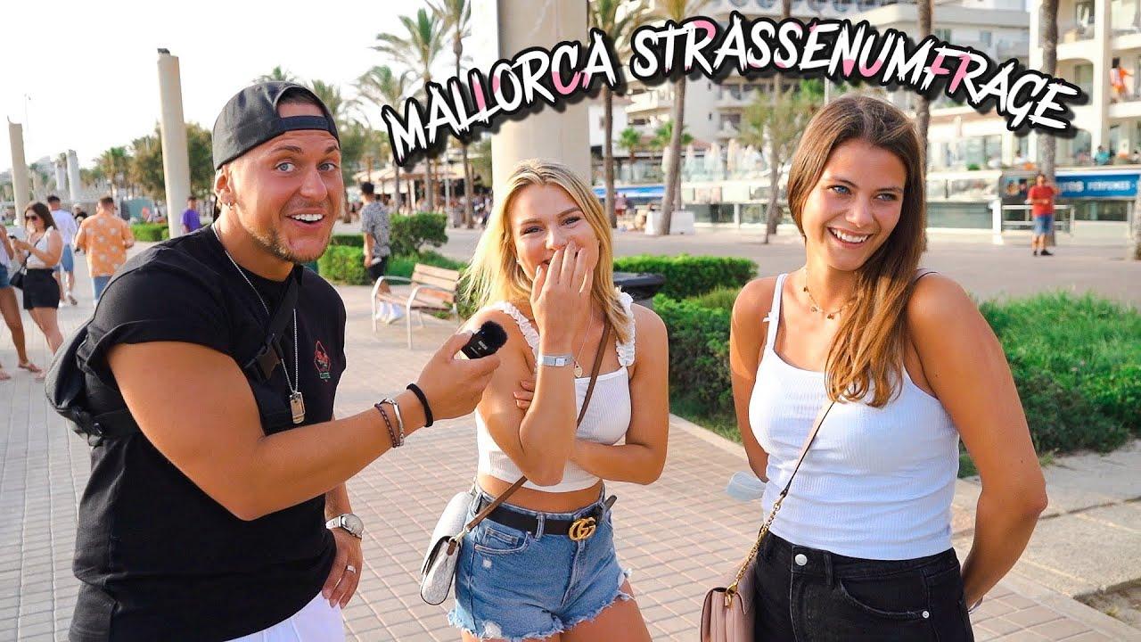 Darf man das ? Partyurlaub in einer Beziehung ohne Partner 🤔 | Straßenumfrage auf Mallorca.