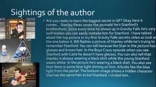 Gravity Falls Secrets #6: The REAL author-Biggest secret revealed!