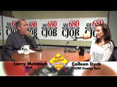 Food and Friends with Larry McIntosh & Colleen Dyck, GORP Energy Bars