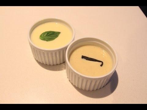 Vanilla & Basil Creme Anglaise