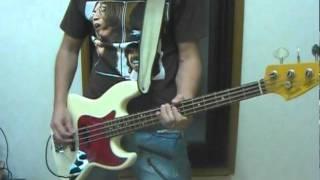 レベッカのフレンズをベースで弾いてみました♪ 先日ふと耳にしまして、...