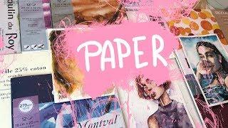 Акварельная бумага   Watercolor paper