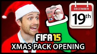 XMAS ADVENT CALENDAR PACK OPENING #19 - FIFA 15 ULTIMATE TEAM Thumbnail
