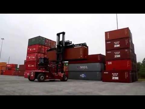 "2014 TAYLOR ""Toplift"" Container Handler TXLC975 RF36 Ga Ports"