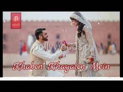 Din Ke Ujalo Me    Khabon Khayalon Mein    WhatsApp Status    Love Song    Mein Tujhe Pal Pal Dekha