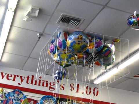 Stuck To The Ceiling In Dollar Tree