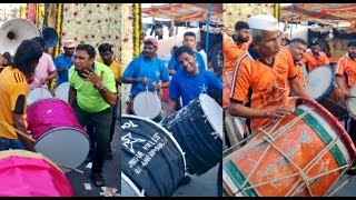 Nasik / Nashik Dhol Mega Compilation Loud Music @ Versova Andheri Mumbai India 2015 [HD VIDEO]