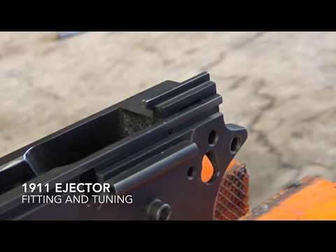 1911 Ejector fitting and tuning