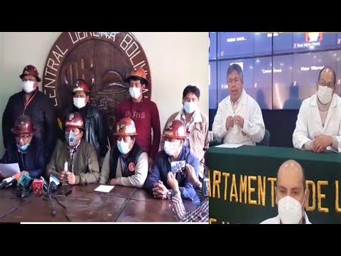 Bolivia | COB pronunciamiento de Mineros de Huanuni en rechazo el paro Medico