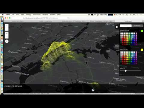 Visualizing Big Data with the ArcGIS API for JavaScript and WebGL