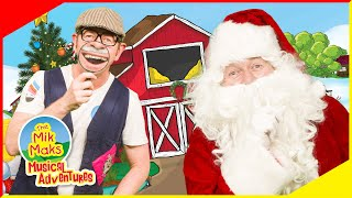 Find Christmas Elf and Snowman | Educational Video's for Kids | The Mik Maks