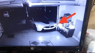 CRASHED MY BMW i8 (Caught on camera)