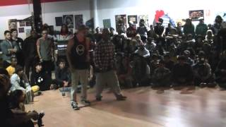 Soulbotics Krew Vs Willams Brothers FSC 19th popping battle
