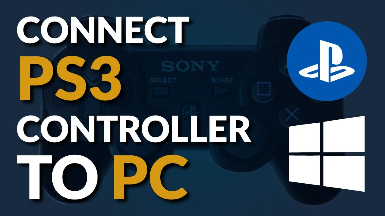 how to play with your ps3 controller on pc