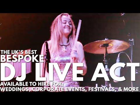 DJ Live Band - Bespoke Customisable Lineups - Wedding DJ Band -Live Performance - Next Level Music