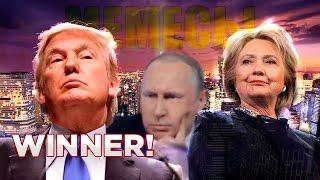 Выборы в США 2016 / Клинтон, Трамп и Путин / Политические Мемесы - Ремейк