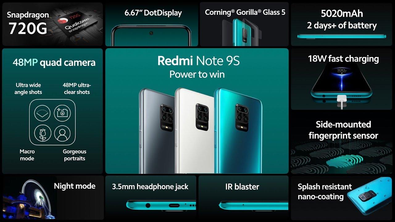 Nuevo Xiaomi Redmi Note 9S Global ya es Oficial